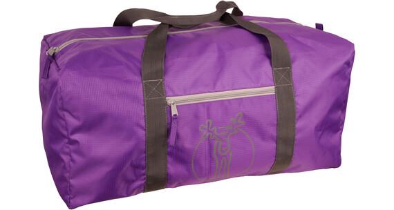 Elkline Knuffelbag Reisetasche darkviolet-grey